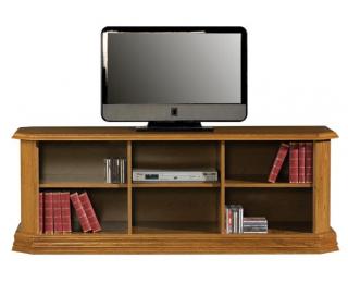 Rustikálny TV stolík Kinga G - drevo D3
