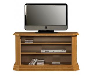 Rustikálny TV stolík Kinga I - drevo D3
