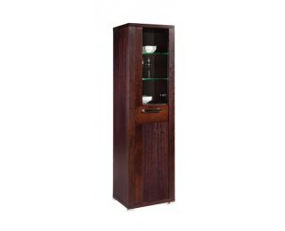 Vitrína Remi 0,5 1S DSZ DPE - drevo D16