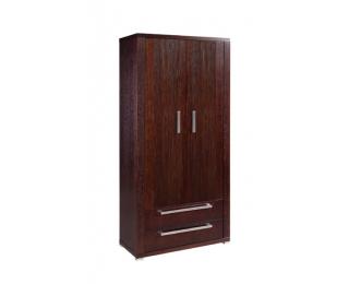 Dvojdverová šatníková skriňa Remi 2D - drevo D16