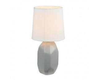 Stolná lampa Qenny Typ 2 - sivá / biela