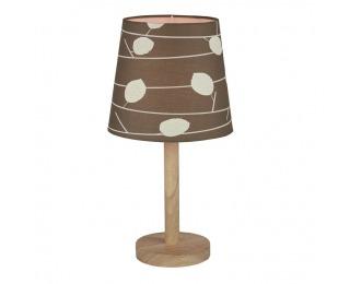 Stolná lampa Qenny Typ 6 - prírodná / vzor listy