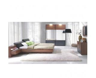 Spálňa Rekato 160x200 cm - orech / grafit