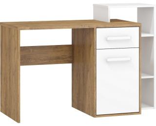 PC stôl Rio Rio-04 P - dub burgundský / biela