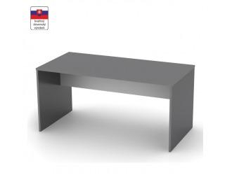 Písací stôl Rioma Typ 16 - grafit / biela