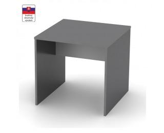 Písací stôl Rioma Typ 17 - grafit / biela