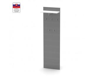 Vešiakový panel Rioma Typ 19 - grafit / biela
