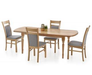 Rozkladací jedálenský stôl Arnold - dub craft