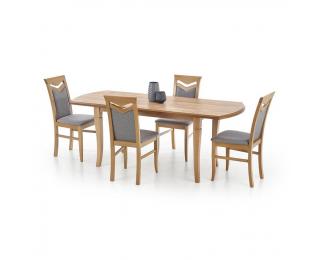 Rozkladací jedálenský stôl Fryderyk 160/200 - dub craft