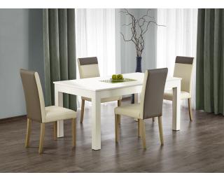 Rozkladací jedálenský stôl Seweryn - biela