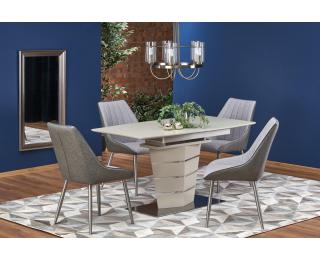 Rozkladací jedálenský stôl Sorento - champagne