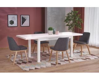 Rozkladací jedálenský stôl Tiago 2 - biela