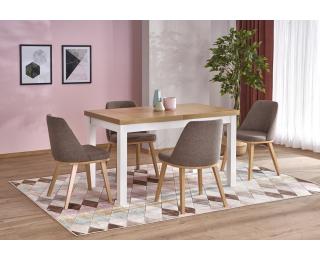 Rozkladací jedálenský stôl Tiago 2 - dub riviera / biela