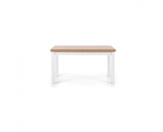 Rozkladací jedálenský stôl Tiago 2 - dub sonoma / biela