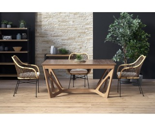 Rozkladací jedálenský stôl Wenanty 160/240 - orech americký