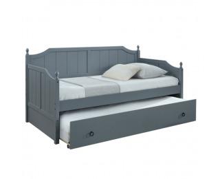 Rozkladacia posteľ s prísteľkou Baroba 90 - sivá
