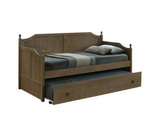 Rozkladacia posteľ s prísteľkou Baroba 90 - dub antický