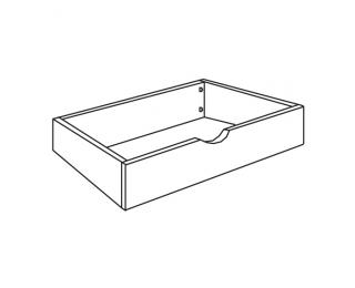 Univerzálny úložný priestor k posteli UUP 160 - biela