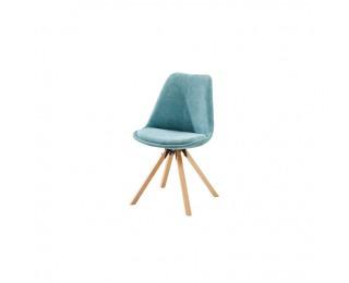 Jedálenská stolička Sabra - mentolová / buk
