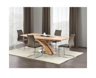 Rozkladací jedálenský stôl Sandor - dub zlatý