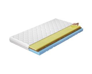 Obojstranný penový matrac Sandra 200 200x200 cm