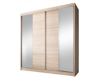 Šatníková skriňa s posuvnými dverami Multi 36 2D 233x218 cm - dub sonoma