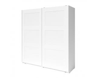 Šatníková skriňa s posuvnými dverami Ramiak 2D - biela