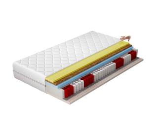 Obojstranný taštičkový matrac Sena 200 200x200 cm