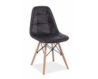 Jedálenská stolička Axel - čierna