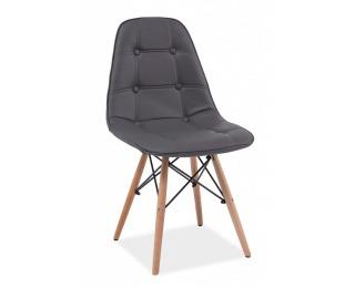 Jedálenská stolička Axel - šedá