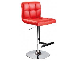 Barová stolička C-105 - červená