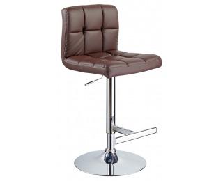 Barová stolička C-105 - hnedá