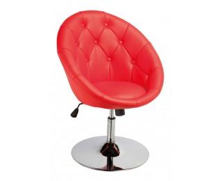 Barová stolička C-881 - červená