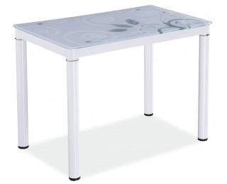Jedálenský stôl Damar - biela
