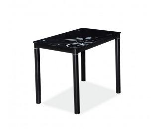 Jedálenský stôl Damar - čierna