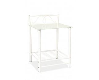 Nočný stolík ET-920 - biela