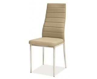 Jedálenská stolička H-261 - tmavobéžová