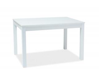 Rozkladací jedálenský stôl Prism - biela