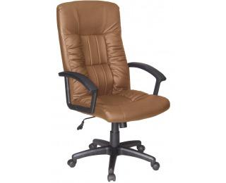 Kancelárska stolička s podrúčkami Q-015 - hnedá