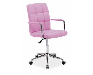Kancelárska stolička Q-022 - ružová