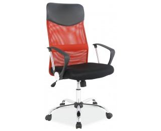 Kancelárske kreslo Q-025 - čierna / červená