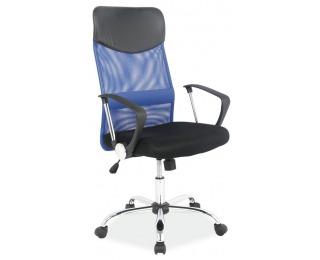 Kancelárske kreslo Q-025 - čierna / modrá
