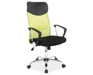 Kancelárske kreslo Q-025 - čierna / zelená