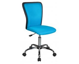 Detská stolička na kolieskach Q-099 - modrá