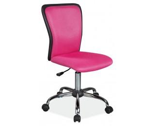 Detská stolička na kolieskach Q-099 - ružová