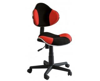 Kancelárska stolička Q-G2 - červená / čierna