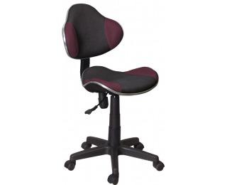 Kancelárska stolička Q-G2 - fialová / čierna