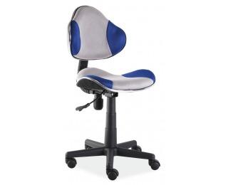 Kancelárska stolička Q-G2 - modrá / sivá