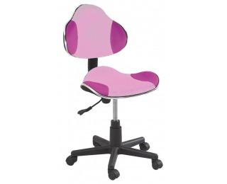 Kancelárska stolička Q-G2 - ružová
