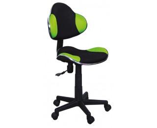Kancelárska stolička Q-G2 - zelená / čierna